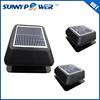 12 watt Square With battery solar attic fan and powerful exhaust fan