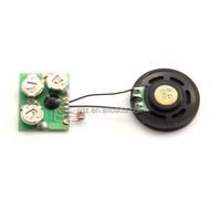 Light sensor sound module for box and music mug