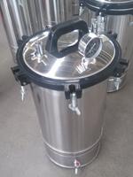 Portable Mushroom Small Autoclave YX-280A Steam Sterilizer with water tap - Bluestone Autoclave