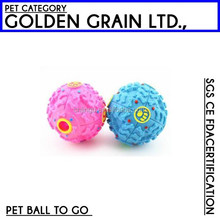 top selling eco-friendly dog food ball with funny sound