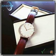 Minimalist 6mm thin blank japan movement quartz watch sr626sw battery minimalist