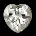 Clear Quartz Heart Shape Crystal Quartz