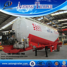 Liangshan Factory bulk cement silo tanker trailer, cement tanker for sale
