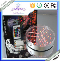 Multi-color up-lighter LED bases for Event/Party/wedding Decor