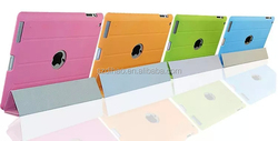 DIHAO Good quality folding flip leather cover For ipad 2/3/4/5/6/mini factory price