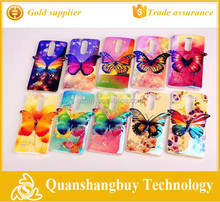 Soft silicone 3D butterfly design phone case cover for LG G3 mini cover for LG G3 mini D722 D725 D728 D724 cover