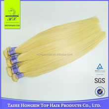 Best Wholesaler In China Straight Wave 7A Grade Bleach White Blonde Virgin Hair Extensions