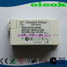 rgb led driver 24v 1000mA with ce ul kcc fcc gs cb cul saa certification