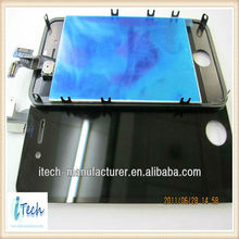 Brand New Clear with White Trim For iPhone 4S Touch Screen Glass Digitizer LCD Front Assembly