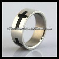 stainless steel mens western wedding bands