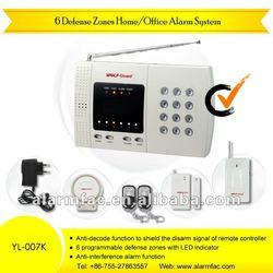 Cheap Home Security Wireless Alarm System Phone alarm PSTN burglar alarm