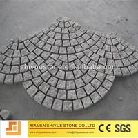 china natural black basalt driveway paving stone
