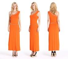 Guangzhou Factory Price Rayon Cotton Party Dress For Women