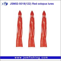 Wholesale China Manufactory Red Octopus Fishing Lures
