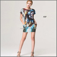 ZS028 New product Promotion asian sexy dress for casual wear