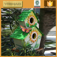 Eco-friendly FSC Hanging Wooden Bird Cage, Wooden Bird House, Bird Cage
