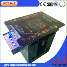 NEW 19 inch LCD Mini Cocktail Arcade Machine With Classical Game 412 In 1 PCB/With Illuminated joystick and Illuminated button