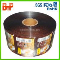 scrap printed plastic film roll/roll film