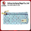 New Innovation canvas zipper pencil bag, manufactry pencil pouch