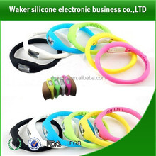 Silicone Jelly Sports Automatic Wrist Watches/silicone digital sport wrist watch/china replica watches wholesale