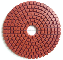 Best Quality Flexible Resin Wet Granite Polishing Pad for Angle Grinder