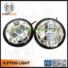 "Popular 4.5"" Harley Fog Light LED 4.5 inch fog lamp for Davidson"