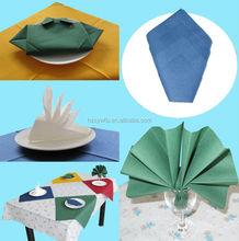 1/4 Fold colorido impresso guardanapo de papel guardanapo de