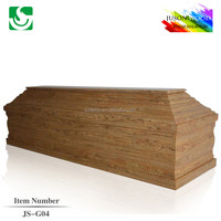 Chinese adult European colors of casket coffin