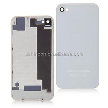 Black and White Glass Battery Back Housing Cover for iPhone 4S
