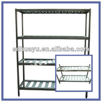 stainless steel cold room storage shelf