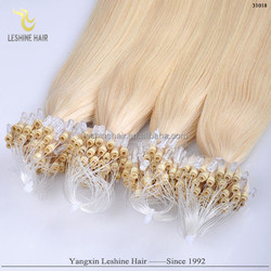 New Products Hot Selling Beaty Work Best Quality Great Length Keratin Glue remy virgin 22 inch micro braiding hair