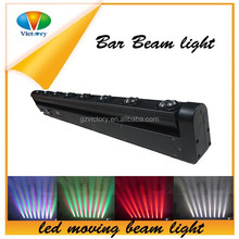 Led 8*10W RGBW-4in1 Strip Rotation Beam Bar/LED stage light