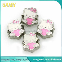 Low price hot sale high quality alphabet floating charms