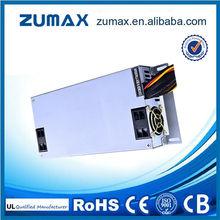 Zumax 80 PLUS Sliver 1U Series 1U650 650W Flex ATX IPC Power Supply w/ Active PFC