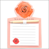 Logo Products Fridge Magnet Note Memo Pad with Pen