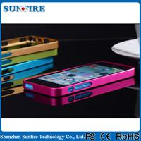 0.7mm ultra thin aluminum bumper for iphone5c, accessories for iphone5c cases, for iphone case 5c