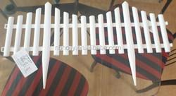 TV635 Flexible decorative plastic garden fence