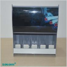 New design metal bottom rotary cigarette display turntable holder