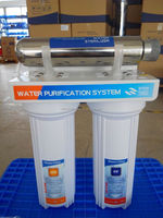 3 stage activated carbon water filter pictures with uv lamp