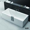 Morden sanitary ware freestanding bath rectangular corner bathtub