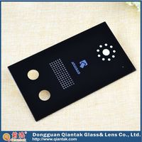 Touch control decorative acrylic front panel