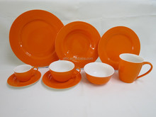 47pcs Fancy Dinnerware, Color Dinnerware,Crockery Dinnerware Service for 8 person