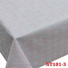 foam pvc household indoor lace table cover/decorative table cloth