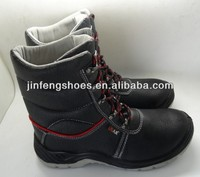 men non leather fashion service rubber high heel cheap steel toe cap whosale work boots for work