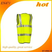 2014 reflective vest cheap safety vest knife resistant gloves