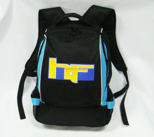Latest design high quality cool backpack with bottle holder