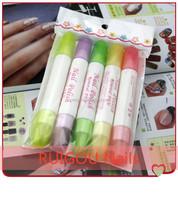 T025 Hot Sale 5pcs/Set Nail Art Pen Supplies Wholesale Nail Polish Remover Pen