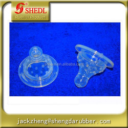 Silicone nipple standard size for feeding bottle