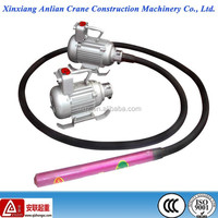 Electric concrete vibrator with 4m concrete vibrator needle for sale
