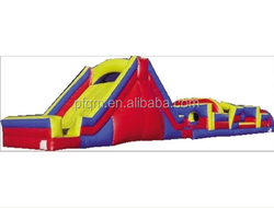 best selling Latest design hottest Popular and best sale commercial/ hot Sale giant inflatable obstacle courses